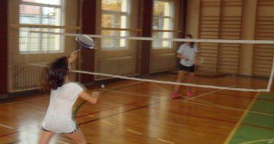 Listopadowy turniej badmintona