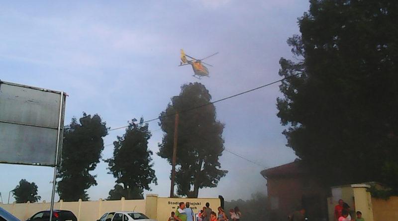 Helikopter LPR interweniował w Ziębicach