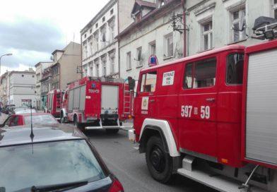 Jeden niedrożny komin i sześć zastępów strażaków